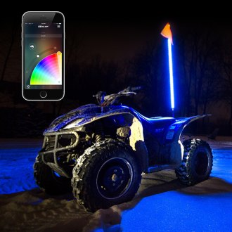 XKGlow® - XKChrome Multi Color Off-road LED Whips
