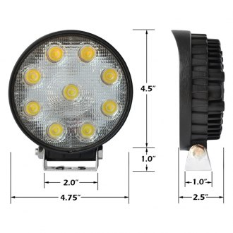 "XKGlow® - 4.5"" 27W LED Light"
