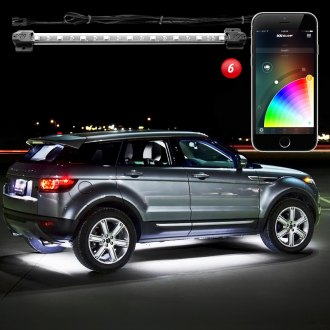 XKGlow® - XKChrome Bluetooth App Control Multi Color Underbody LED Light Kit