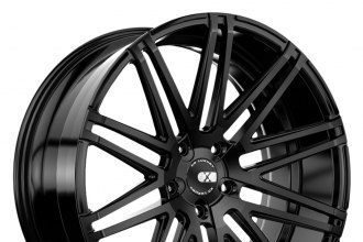 "XO® - MILAN Matte Black (20"" x 8.5"", +15 to +35 Offsets, 5x108-130 Bolt Patterns, 74.1mm Hub)"
