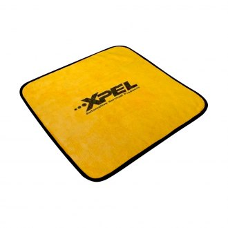 XPEL® - Gold with Black Microfiber Towel