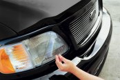 Image may not reflect your exact vehicle! XPEL® - Clear Headlight Signal Light Protection Kit