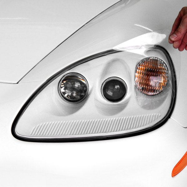Image may not reflect your exact vehicle! XPEL® - Headlight Protection Cover Close Up