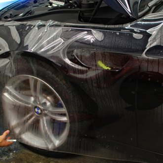 XPEL® - Paint Protection Film on  Black BMW M5