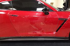 XPEL® - Paint Protection Film on Car