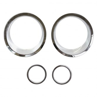 Xprite® - Chrome Front Headlight Bezels