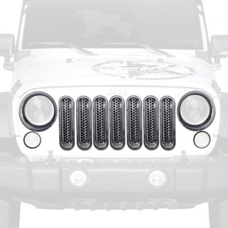 Xprite® - Grille Inserts and Bezels for Headlights and Turn Signal Lights