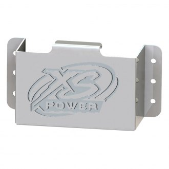 XS Power® - Stamped Aluminum Side Mount Battery Box