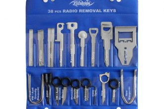 Xscorpion® - 38-Piece Set of Head Unit Removal Keys