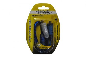 Xscorpion® - Triple Shielded RCA Splitter