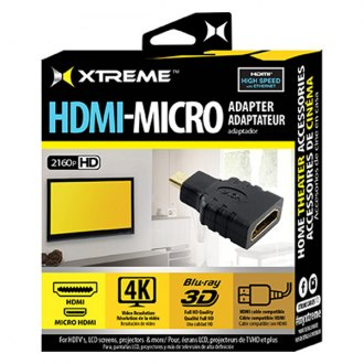 Xtreme Accessories® - HDMI to Micro HDMI Adapter
