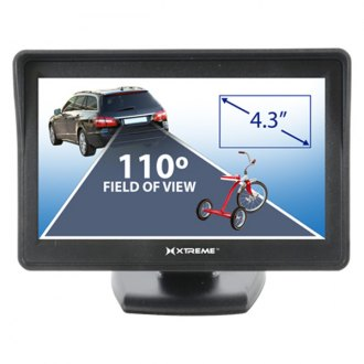 "Xtreme Accessories® - Rear View System with 7"" Monitor and License Plate Mount Camera"