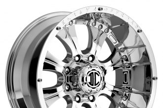 "XTREME® - NX-1 Chrome (18"" x 9"", -12 Offset, 8x170 Bolt Pattern, 130.8mm Hub)"