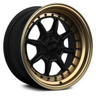 XXR® - 002.5 Flat Black with Bronze Lip