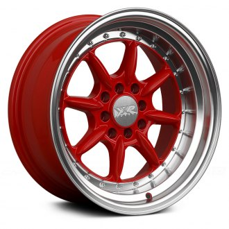 XXR® - 002.5 Red with Machined Lip