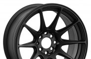 "XXR® - 527 Flat Black (17"" x 8.25"", +25 Offset, 5x114.3 Bolt Pattern, 73.1mm Hub)"