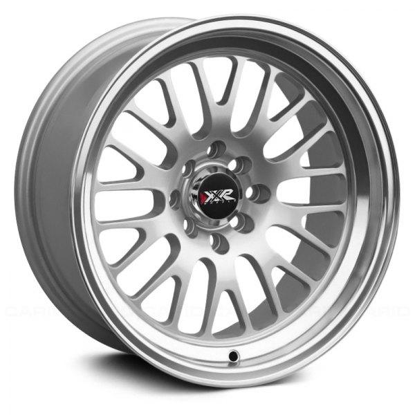 Wheels on Xxr   531 Wheels   Hyper Silver With Machined Lip Rims