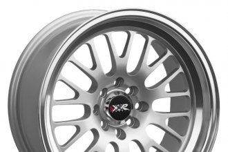 "XXR® - 531 Hyper Silver with Machined Lip (19"" x 8.5"", +35 Offset, 5x114.3 Bolt Pattern, 73.1mm Hub)"