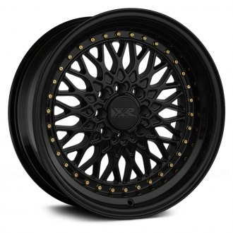 XXR® - 536 Black with Gold Rivets