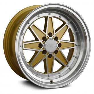 XXR® - 538 Gold with Machined Face and Lip