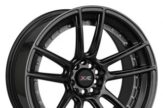 "XXR® - 969 Chromium Black (18"" x 8.75"", +20 Offset, 5x114.3 Bolt Pattern, 73.1mm Hub)"