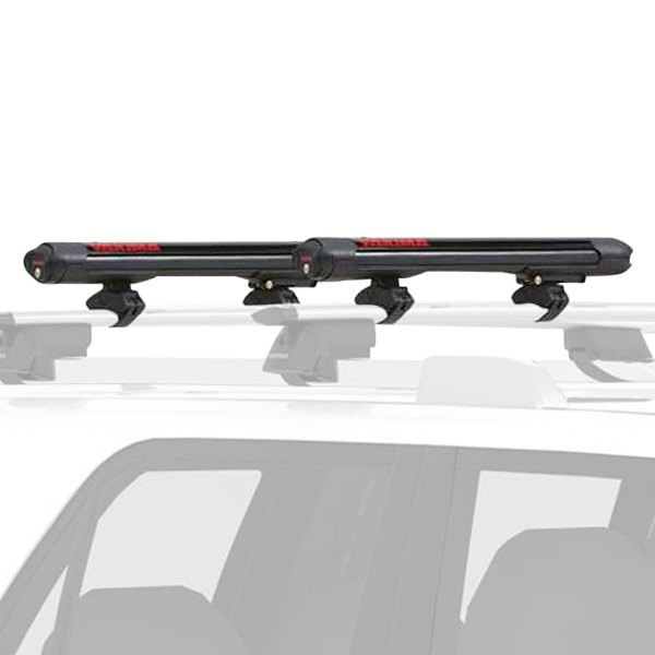 Yakima® - FatCat EVO Black Ski and Snowboard Rack (4 Pairs of Skis or 2 Snowboards)