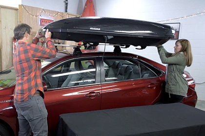Yakima® - ShowCase Roof Cargo Box Installation