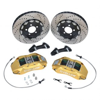 Yellow Speed Racing® - Ultra Grand™ Drilled Big Brake Kit