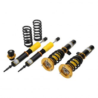 "Yellow Speed Racing® - 3""-5"" x 3""-5"" Super Low™ Front and Rear Lowering Coilover Kit"