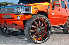 YOKOHAMA® - Parada Spec-X Tires on Hummer H2