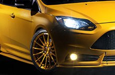 YOKOHAMA® - S.Drive Tires with ADV.1 Wheels on Ford Focus