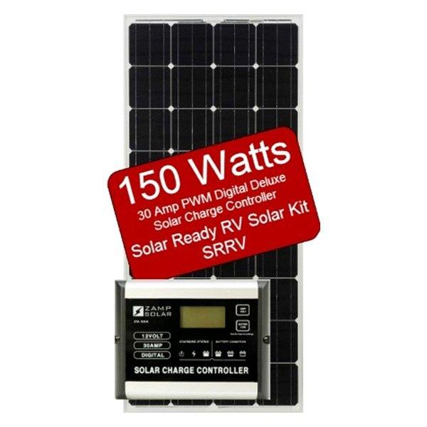 Zamp Solar 174 Zs 150 30a Srrv 150 Watts Solar Rv Ready Kit