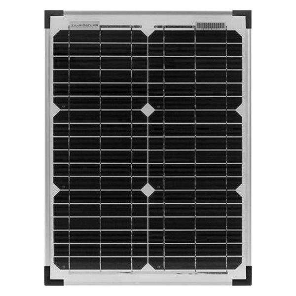 zamp solar zs 20 pp 20 watt solar plug n play charging system. Black Bedroom Furniture Sets. Home Design Ideas