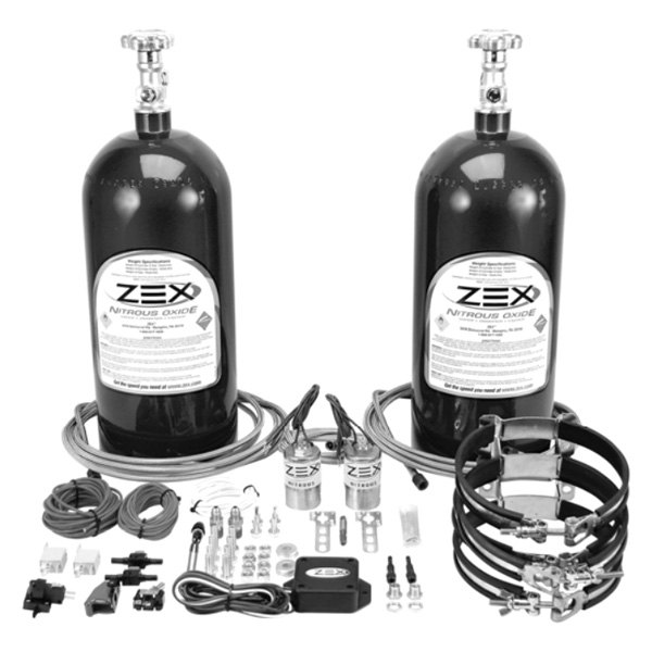 ZEX® - Blackout™ Race Dry Nitrous SystemImage may not reflect exact vehicle or part!