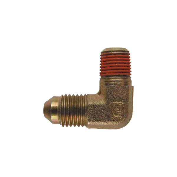 "ZEX® - -4AN to 1/8"" NPT 90 Degree Nitrous Adapter Fitting"