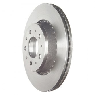 Zimmermann® - Plain Vented 1-Piece Front Brake Rotor
