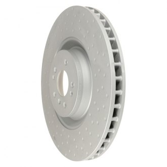 Zimmermann® - Coat-Z Dimpled Vented 1-Piece Brake Rotor