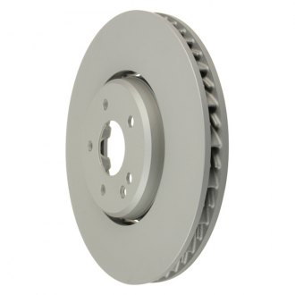 Zimmermann® - Formula Z Series Plain Vented 1-Piece Front Brake Rotor