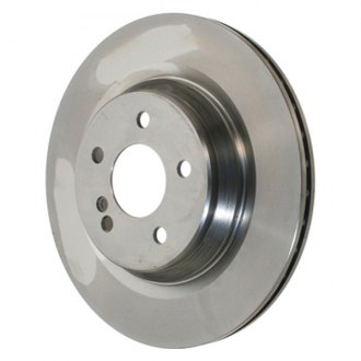 Zimmermann® - Coat-Z Plain Vented 1-Piece Rear Brake Rotor
