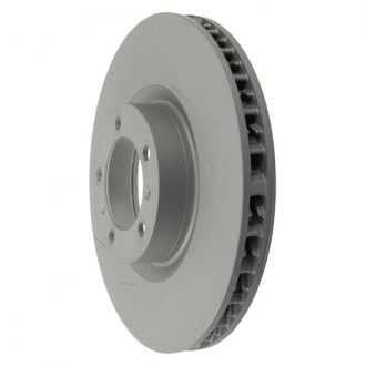 Zimmermann® - Coat-Z Slotted Vented 1-Piece Brake Rotor