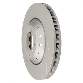 Zimmermann® - Formula Z Series Slotted Vented 1-Piece Front Brake Rotor