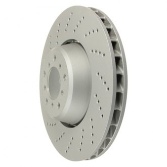 Zimmermann® - Formula Z Series Drilled Vented 1-Piece Brake Rotor