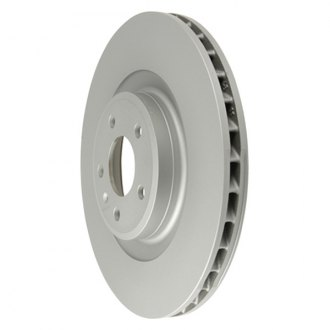 Zimmermann® - Coat-Z Plain Vented 1-Piece Brake Rotor