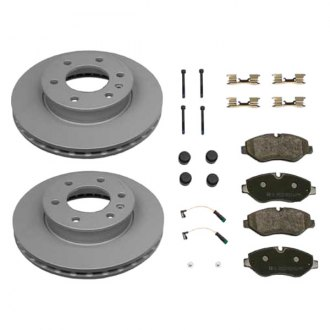 Zimmermann® - Coat-Z Plain Brake Kit