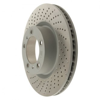 Zimmermann® - Coat-Z Drilled Vented 1-Piece Brake Rotor