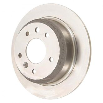 Zimmermann® - Plain Solid 1-Piece Rear Brake Rotor