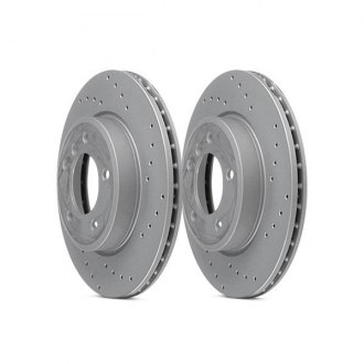 Zimmermann® - Sport Drilled Brake Rotor