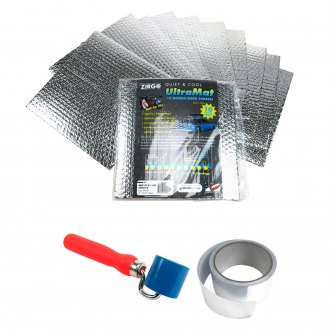 Zirgo® - UltraMat Heat and Sound Barrier Square Style Pro Kit