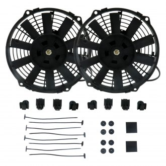 Zirgo® - Two Fans with Fan Ties