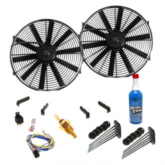 Zirgo® - Super Cool Kit with Two Flat Blade Style Fans